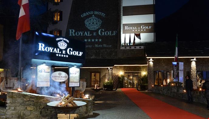Grand hotel royal e golf sts alpresor for Meuble berthod courmayeur